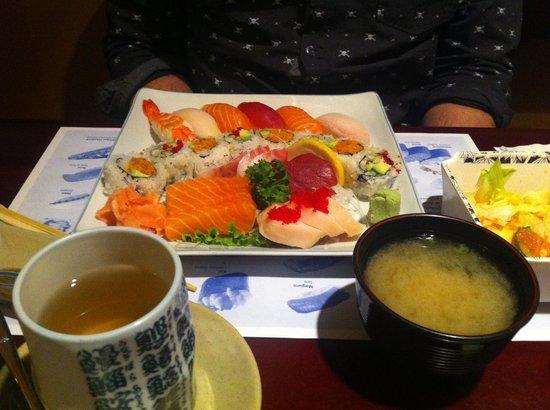 Sushi Restaurants Queens Quay Toronto
