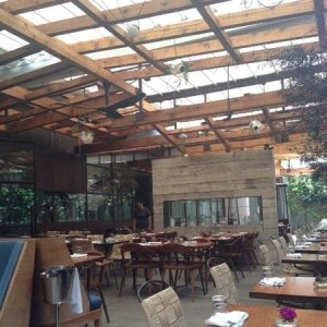 Outside dinning area   Picture of Hinoki   the Bird  Los Angeles     Hinoki   the Bird  Outside dinning area