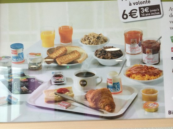 B B Hotel Paris   affordable breakfast   Picture of B B Hotel Paris     B B Hotel Paris Porte des Lilas  B B Hotel Paris   affordable breakfast