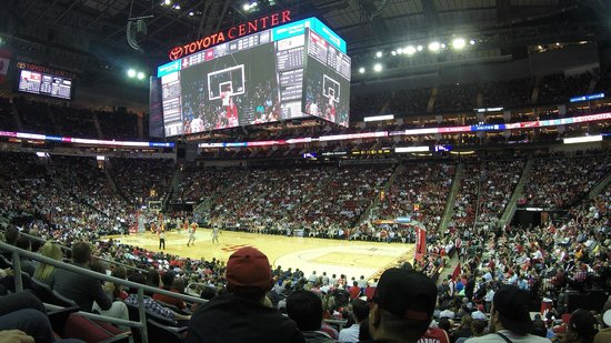 Elvin Hayes was charming - Picture of Toyota Center, Houston - TripAdvisor