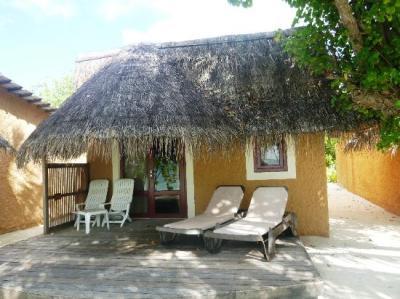 Das sind die Beach Bungalow - Picture of Kuredu Island ...