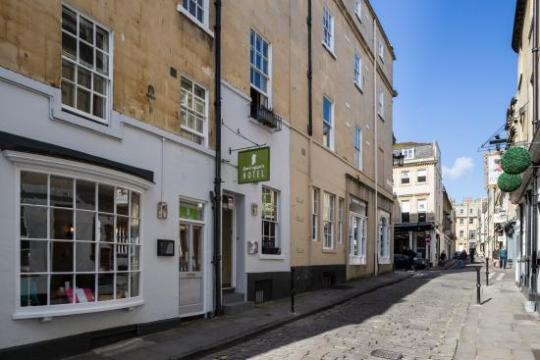 Queen Street view   Picture of Harington s Hotel  Bath   TripAdvisor Harington s Hotel  Queen Street view