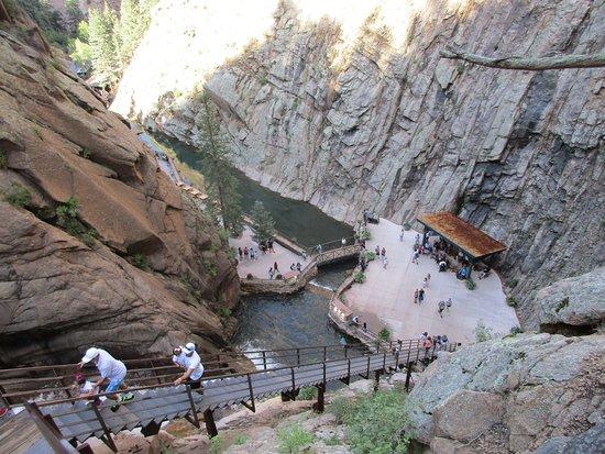 Springs Night Colorado 7 Falls