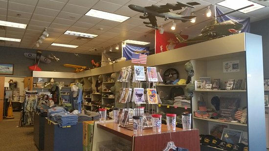 Gift shop and hangar   Picture of Tennessee Museum of Aviation     Tennessee Museum of Aviation  Gift shop and hangar