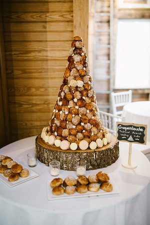 Croquembouche   french wedding  cake    Picture of PB Boulangerie     PB Boulangerie Bistro  Croquembouche   french wedding  cake