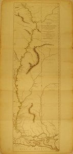 1775 Map of Lower Mississippi River by Robert Sayer   Picture of     Stone Gallery  1775 Map of Lower Mississippi River by Robert Sayer