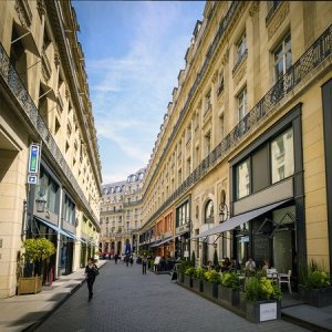Street view of hotel   Picture of Hotel Indigo Paris   Opera  Paris     Hotel Indigo Paris   Opera  Street view of hotel
