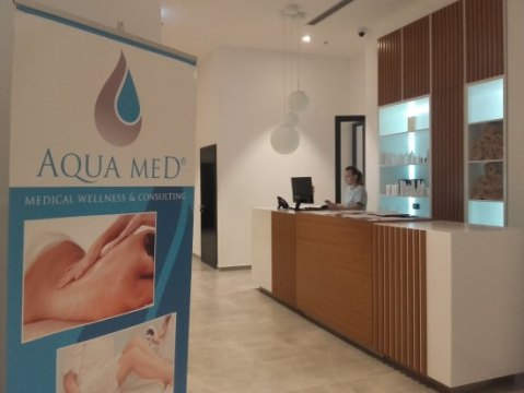 Front desk   Picture of Aqua Med Medical Wellness at Hotel Marvie     Aqua Med Medical Wellness at Hotel Marvie  Front desk