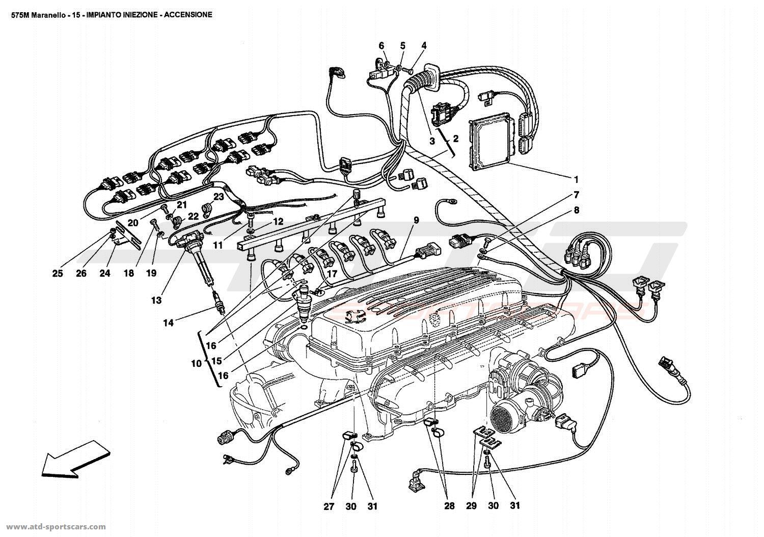 9 injection ignition device