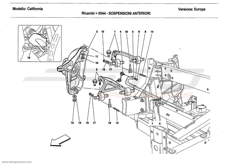 Ferrari Front Suspension Diagram