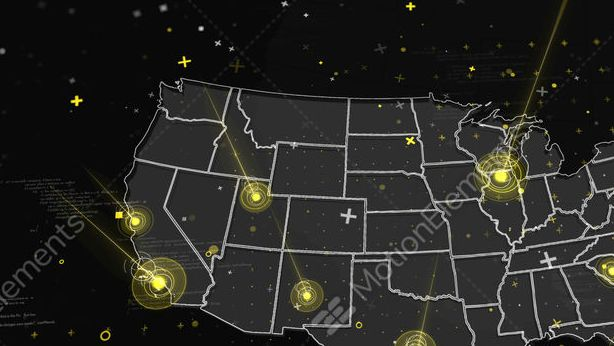 HD Decor Images » Usa Weather Map In Motion