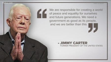 Jimmy Carter 'pained' Racial Injustices Spurring Protests | 11alive.com