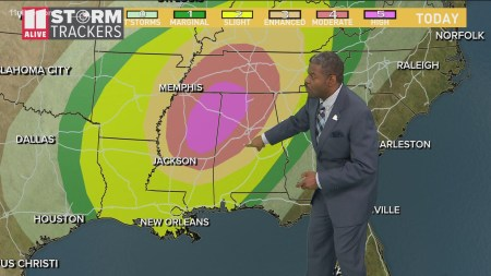 Heavy Rain, Possible Tornadoes May Enter During The Evening Across The  Metro Atlanta Area | 11alive.com