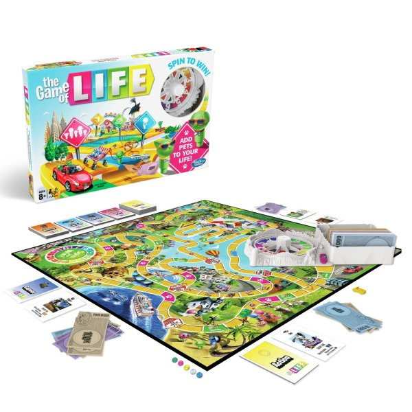 Buy The Game of Life Classic Board Game from Hasbro Gaming   Board     The Game of Life Classic Board Game from Hasbro Gaming
