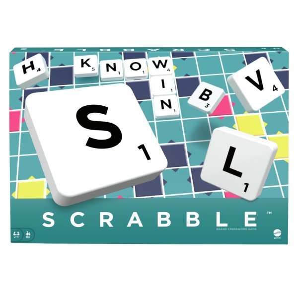 Buy Scrabble Original Board Game   Board games   Argos Scrabble Original Board Game