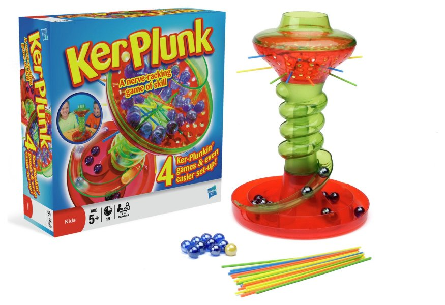 Buy KerPlunk Board Game from Hasbro Gaming   Board games   Argos Click to zoom