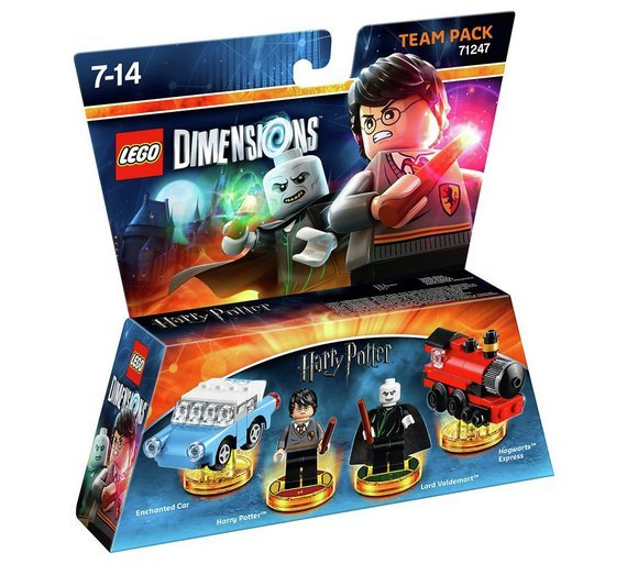 Buy LEGO Dimensions Harry Potter Team Pack   Lego Dimensions   Argos Click to zoom