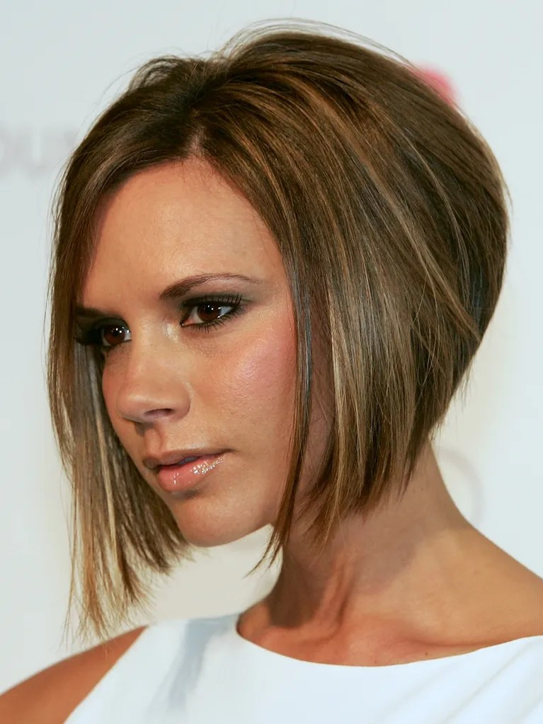 Victoria Beckham s Daughter  Harper  Got Her Mother s Famous Bob     Victoria Beckham with bob hairstyle  2008
