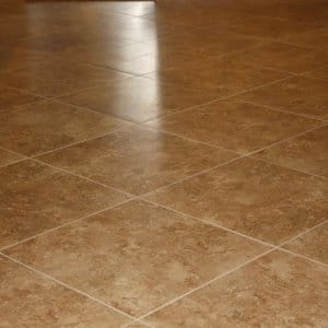 Tips for Regrouting Tile Flooring   Angie s List Freshly tiled floor with clean grout
