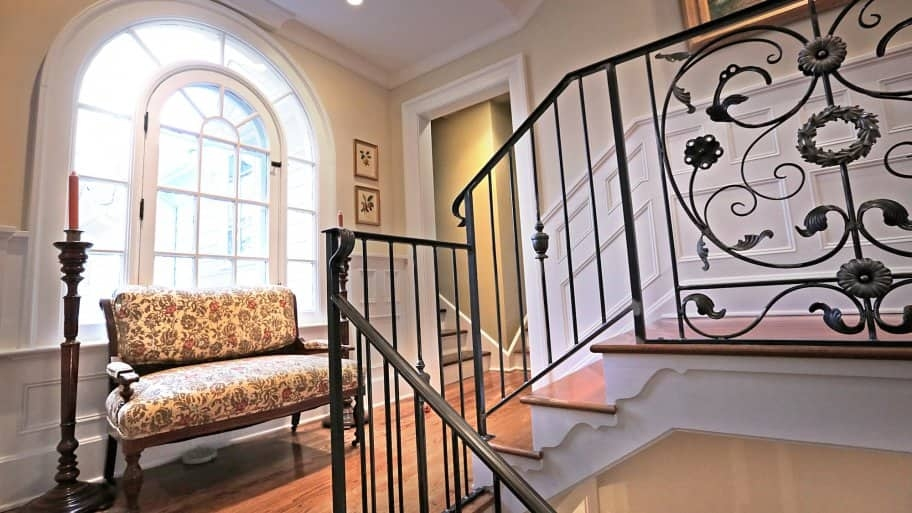How To Paint Wrought Iron Railings Angie S List   Railings Stairs Inside House   Wood   Cable Railing Systems   Deck Railing   Glass Railing Ideas   Banister
