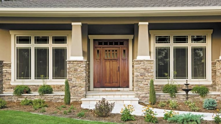Front Doors for Craftsman Style Houses   Angie s List Front Doors for Craftsman Style Houses