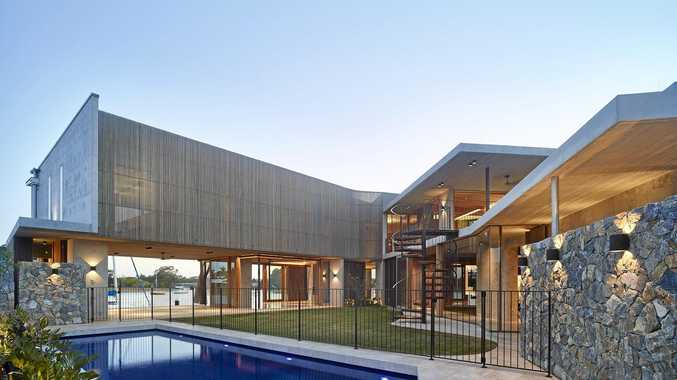Coast architecture shines at state awards   Sunshine Coast Daily The V House on Mooloolah Island has won a residential architecture award at  the Queensland Architecture