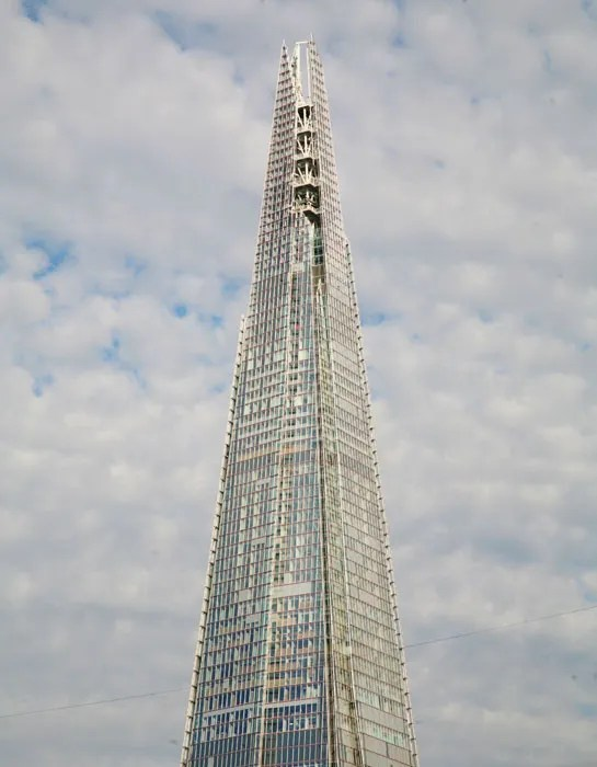 Renzo Piano S The Shard In London Architectural Digest
