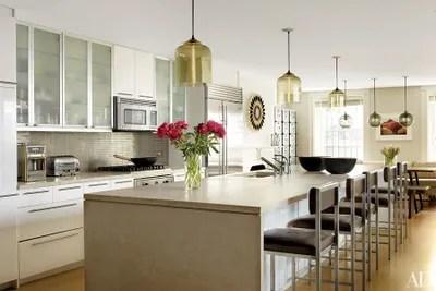 pendant lighting over kitchen island # 13
