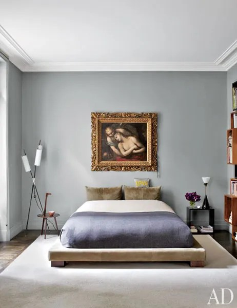 Gray Bedroom Amp Living Room Paint Color Ideas Photos