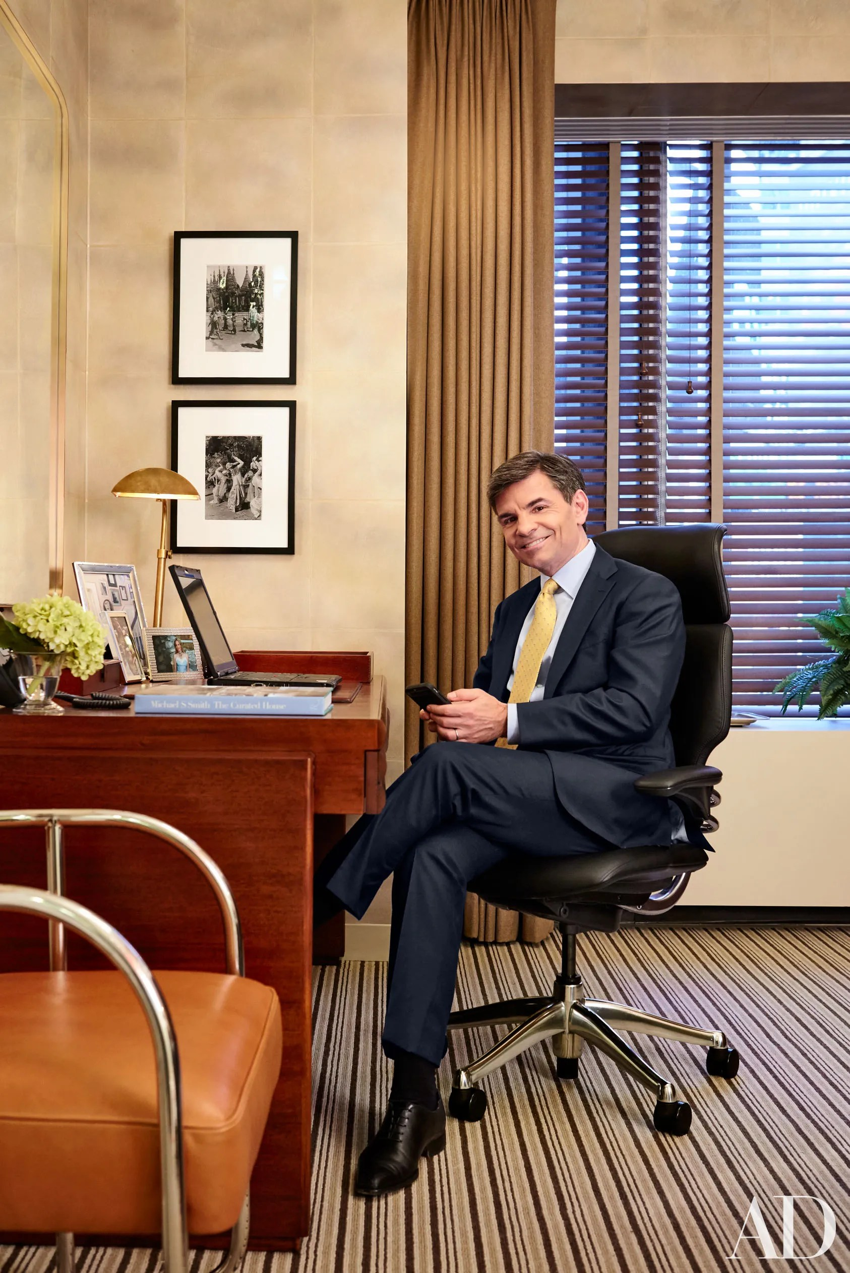 George Stephanopoulos S Office Makeover At Good Morning