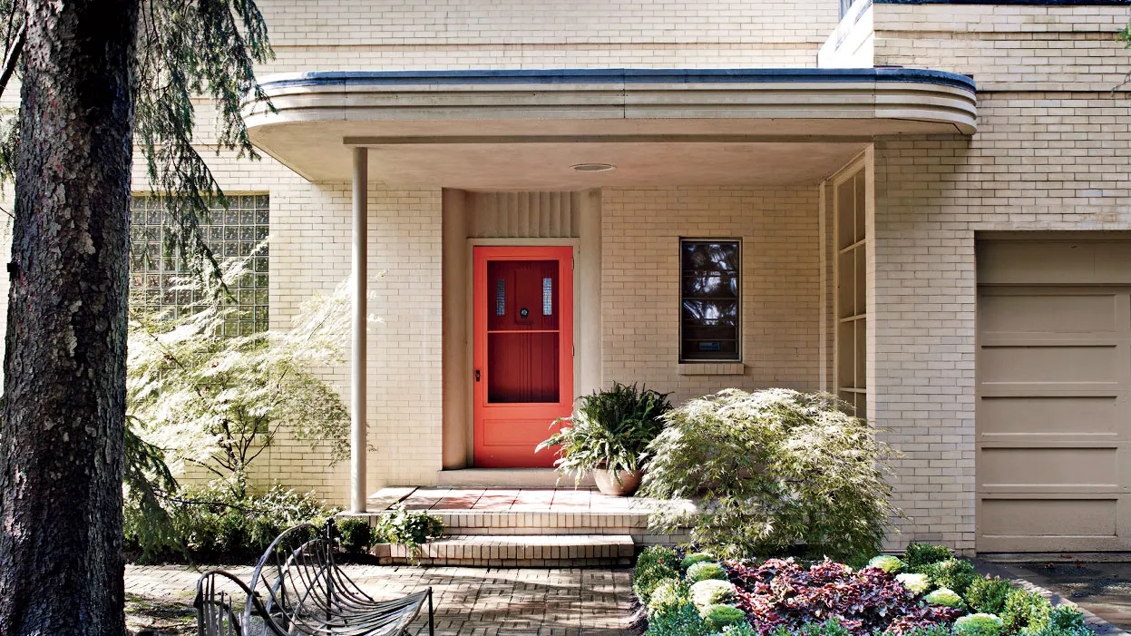 38 Unique Beautiful Front Door Ideas For Your Home   Main Entrance Stairs Design   Exterior   Backyard Patio   Patio   Front Yard   Traditional