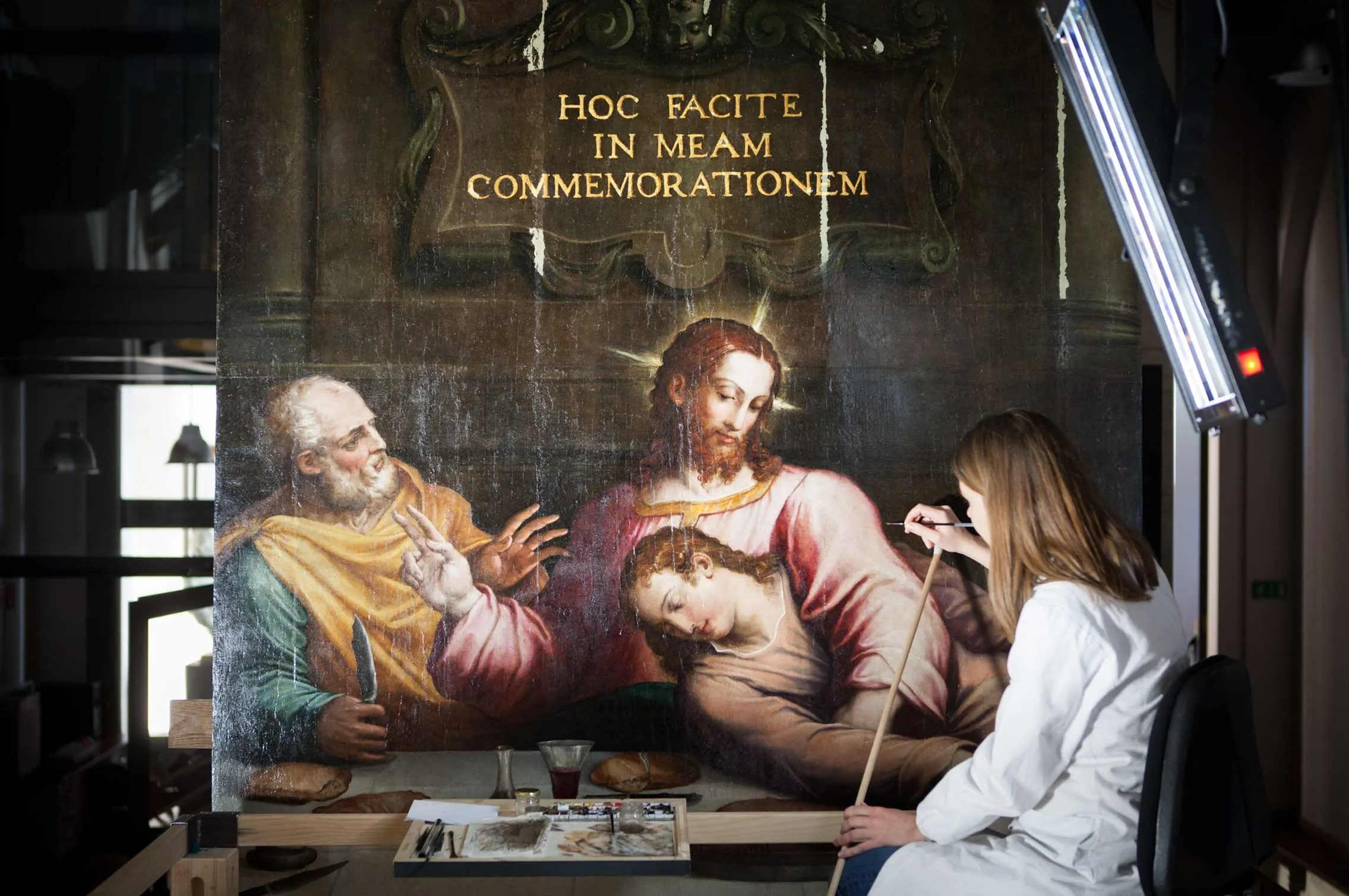 Giorgio Vasari S The Last Supper Gets Restored With Help