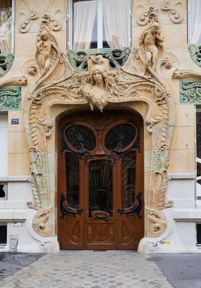 5 Of The Best Art Nouveau Buildings In Paris