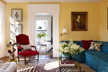 8 Small Living Room Ideas That Will Maximize Your Space     Traditional Living Room by Harry Heissmann and Jonathon Parisen in Hudson  Valley  NY