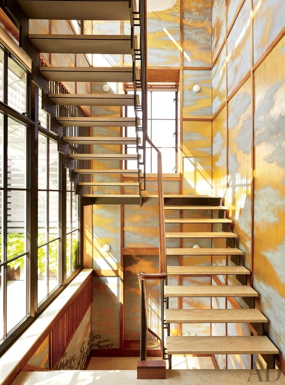 Types Of Stairs Explained Architectural Digest | Staircase Outside House Design | Curved | Modern | Cool | Residential | Up Balcony