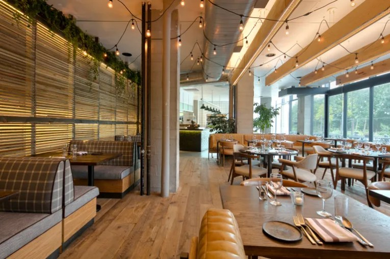 The Restaurant Design Trends You ll See Everywhere in 2018     The Matt Abramcyk designed Osprey  in the 1 Hotel Brooklyn Bridge