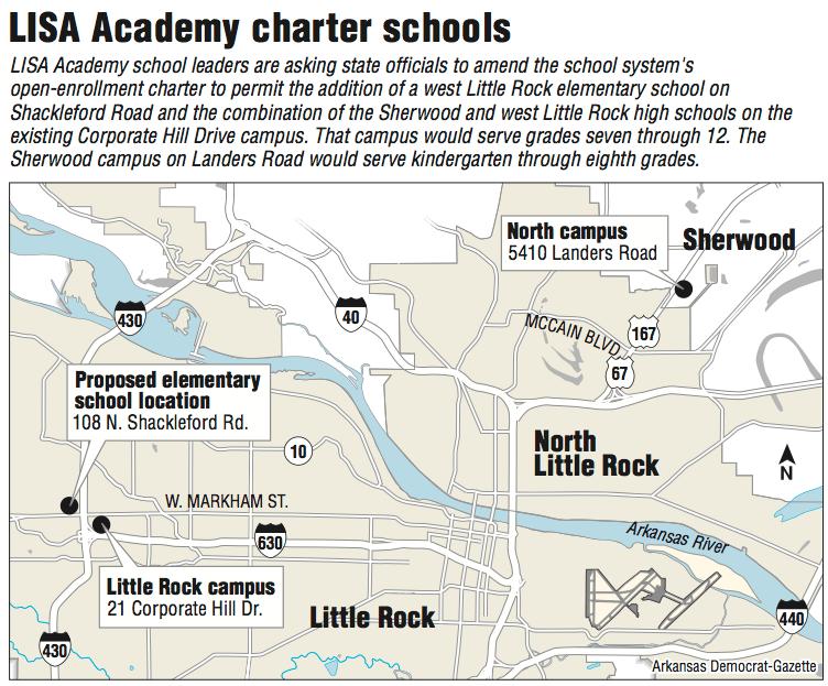 Map Georgia Charter Schools