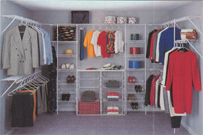 Closet Organizers   Manufacturers   Photos   Ask the Builder You can mix and match shelving types  styles and orientations  The photos  are courtesy of the Schulte Corporation  They have been in the storage  solution