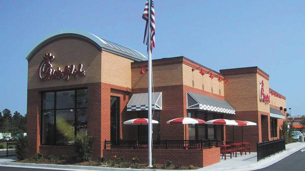 Fast Food Restaurants Buildings