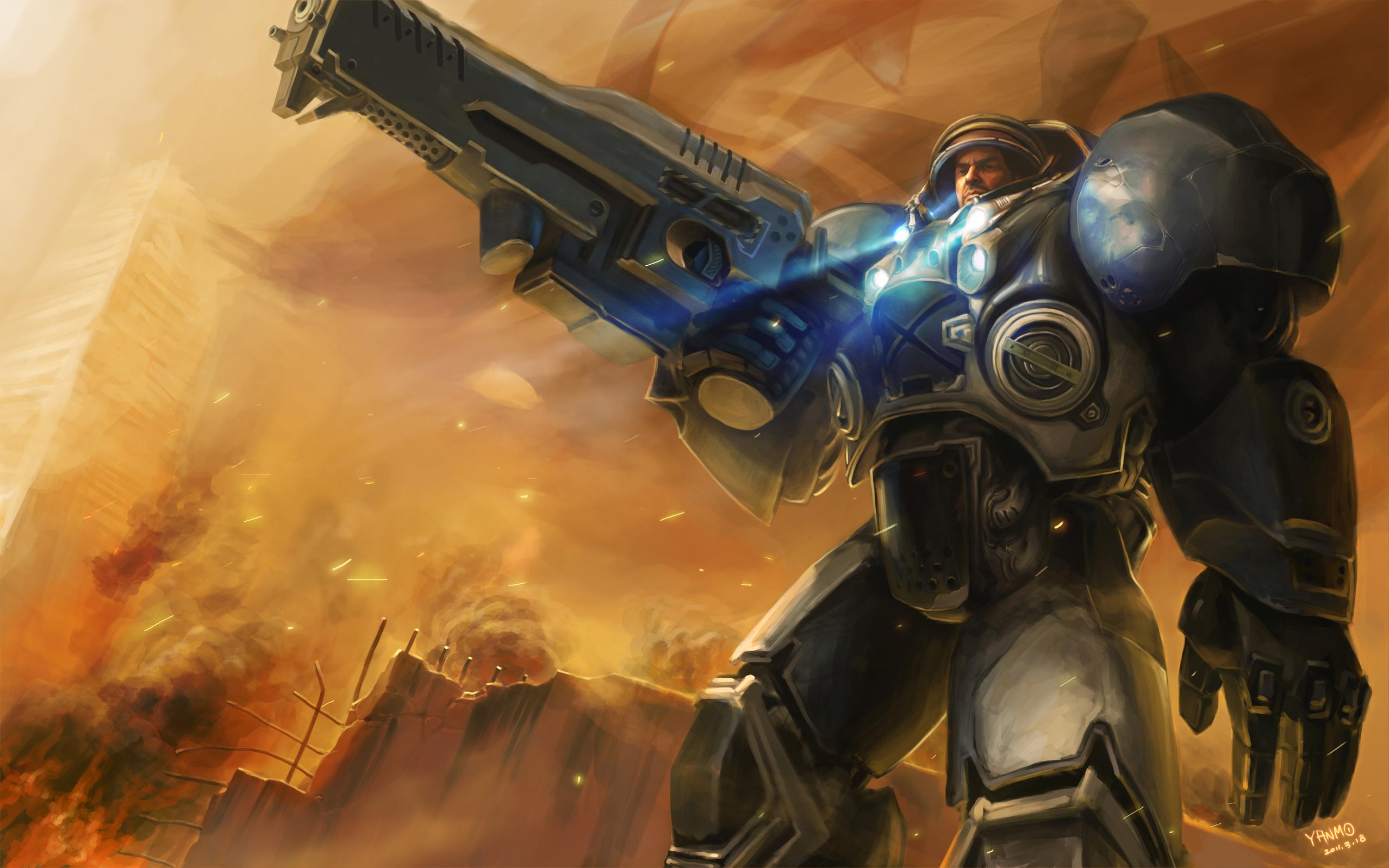 Nova Starcraft 2 Wallpaper