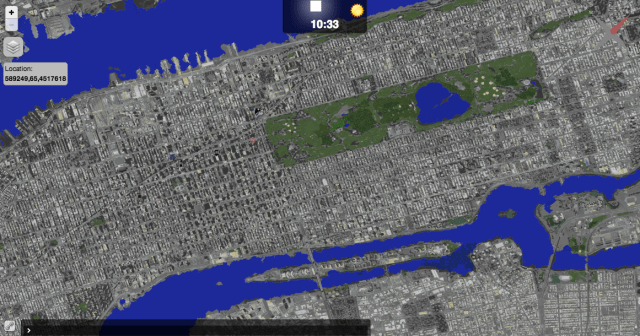 Google Earth Manhattan New York