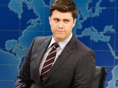'SNL' Star Colin Jost Under Fire for 'Transphobic' Joke