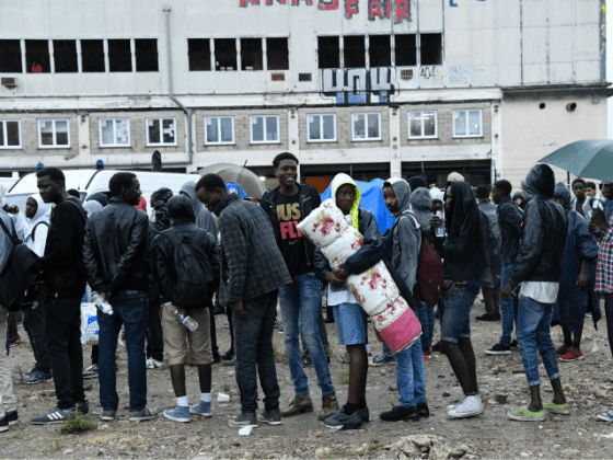Migrant Helper Group Gives up on  Dangerous  Paris Migrant Camp The pro migrant association Solidarit     Migrants Wilson will halt all  operations in La Chapelle  Paris  in August due to their staff being  subjected to