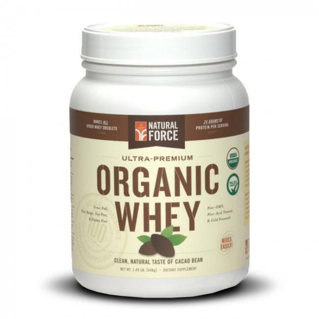 Natural Force Organic Whey | Bulu Box