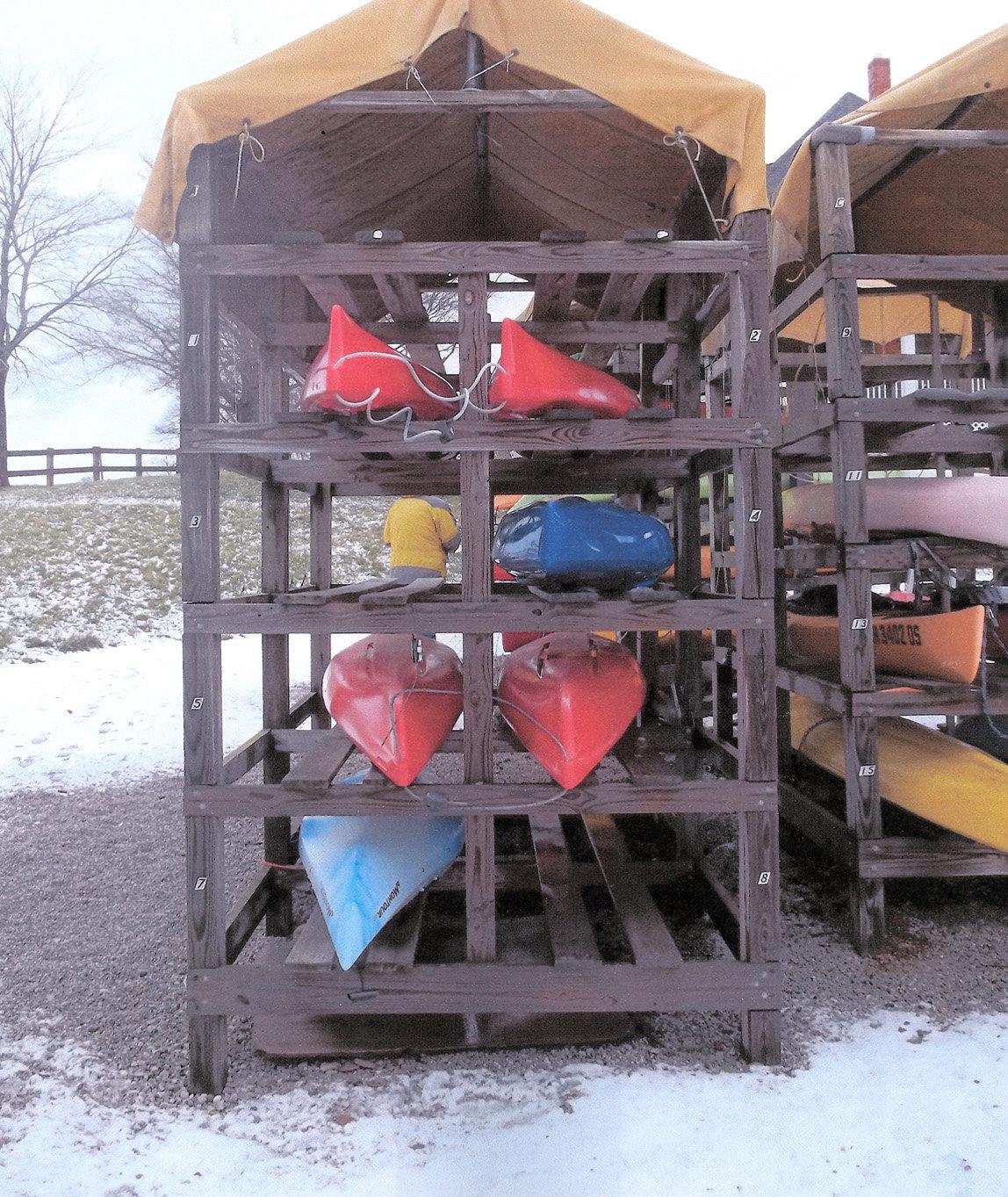 Kayak Storage Rack Plans Diy
