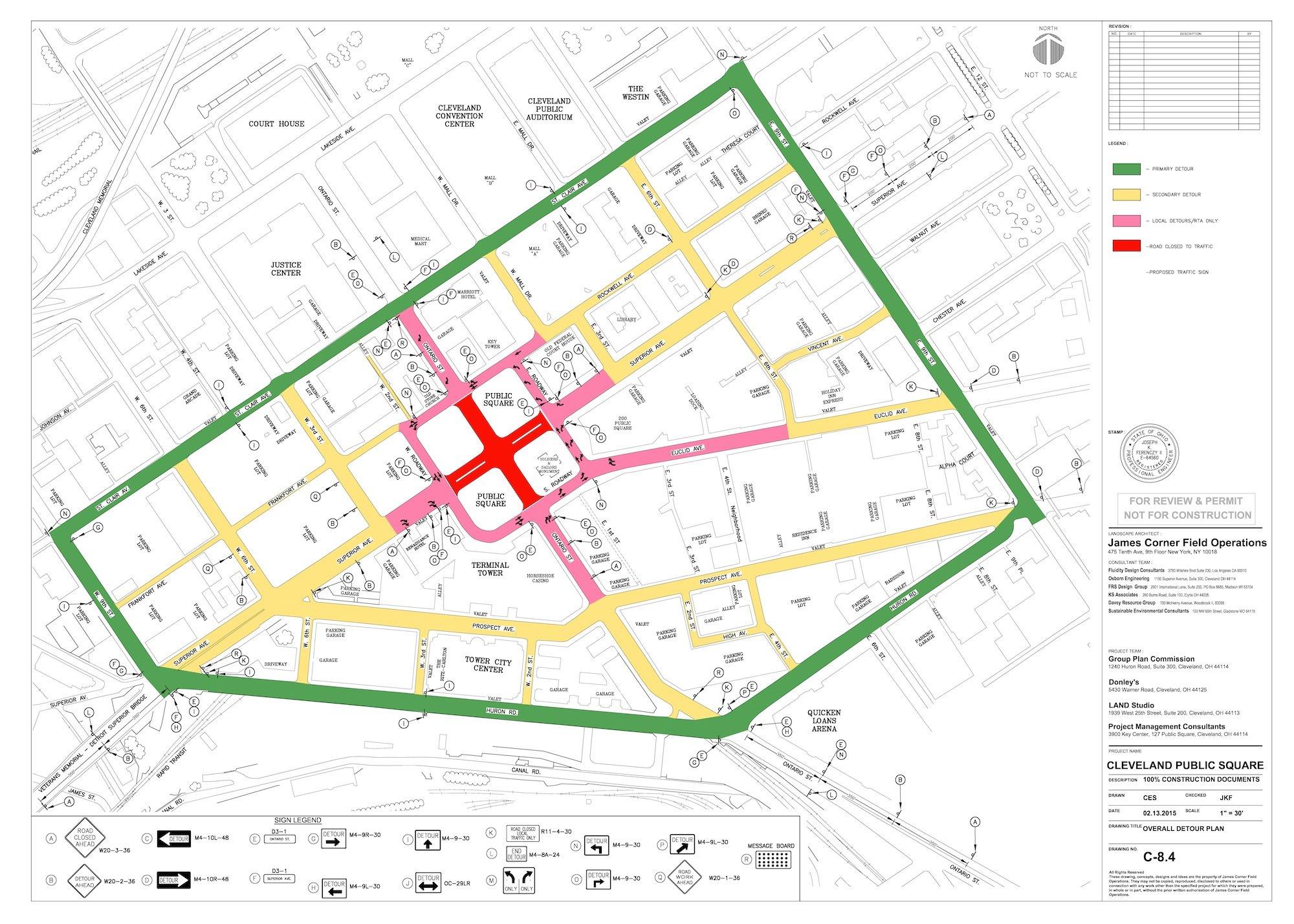 Streets Paris Map Bus