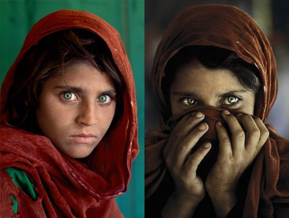 Afghan Girl National Geographic