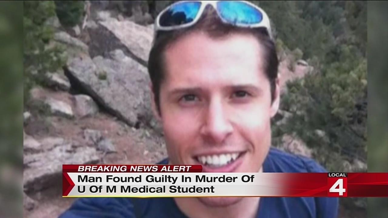 Man Found Guilty In Murder Of University Of Michigan
