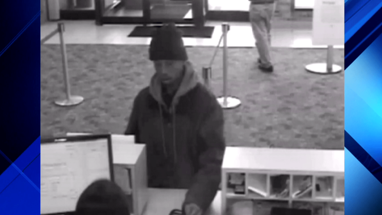Surveillance Video Released Showing Bank Robbery In Troy