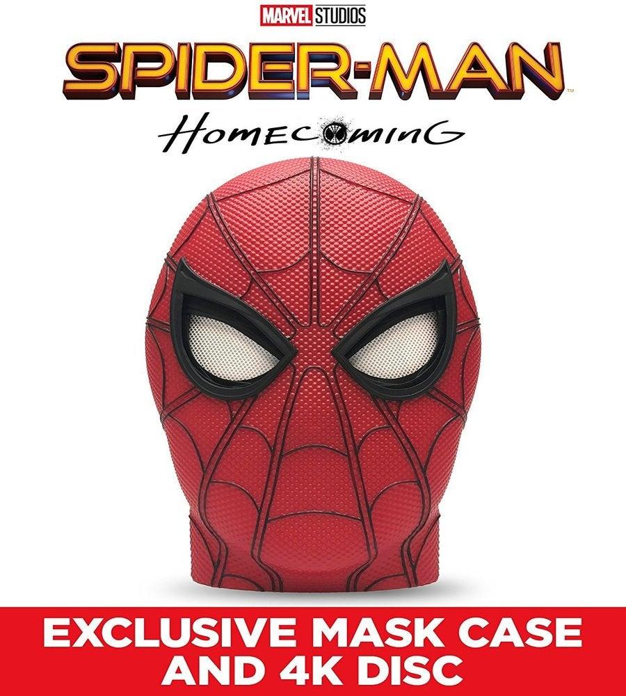 Homecoming 3d Man Dvd Digital Spider Ray Blu